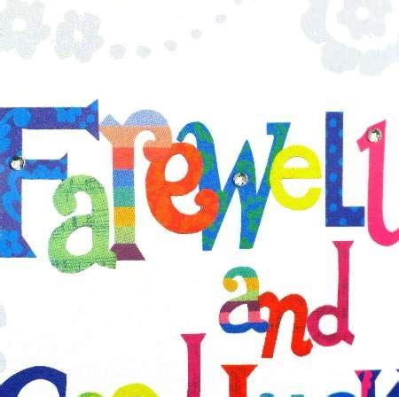 A farewell party short essay